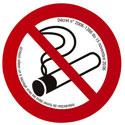 """Plaque de signalisation """"Interdiction de fumer"""""""