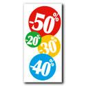 """Affiche """"-20/-30/-40/-50 %"""""""