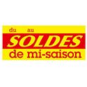 """Affiche """"Soldes de mi-saison"""""""