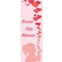 """Affiche """"Bonne fête Maman"""" Verticale"""