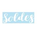 """Sticker """"Soldes"""""""