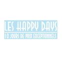 "Sticker ""Les Happy Days"""