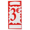 """Plaques alvéolaires """"3 euros"""""""