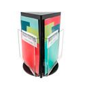 Porte-document rotatif 3 cases, A4