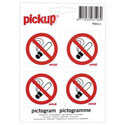"Pictogrammes ""Interdition de fumer"""