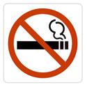 """Pictogramme adhésif """"Espace non fumeurs"""""""