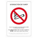 "Panneau adhésif ""interdiction de fumer"""