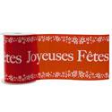 """Banderole """"Joyeuses fêtes"""""""