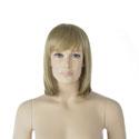 Perruque femme cheveux mi-longs blonds