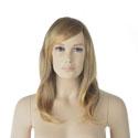 Perruque femme cheveux longs blonds