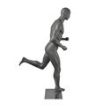 Mannequin homme Running, finition mate
