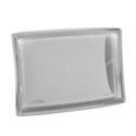 Plats rectangulaires en plastique