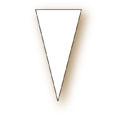 Étiquettes pique triangle