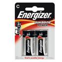 Piles alcalines LR14 C Energizer power
