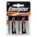 Piles alcalines LR20 D Energizer power