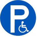 """Disque """"Parking PMR"""""""