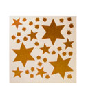 Stickers vitrines étoiles