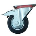 Roulette à platine pivotante avec frein