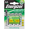 Piles rechargeables LR06 AA Energizer power plus