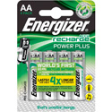 Piles rechargeables LR03 AAA Energizer power plus