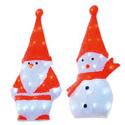 Figurine de Noël à LED