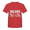 "T-shirt ""Soldes"""
