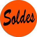 """Gommettes adhésives """"Soldes"""""""