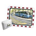 Miroir de surveillance traffic