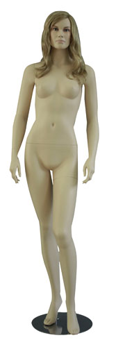 Mannequin femme sans perruque