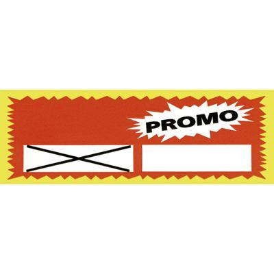 Étiquettes prédécoupées Promo