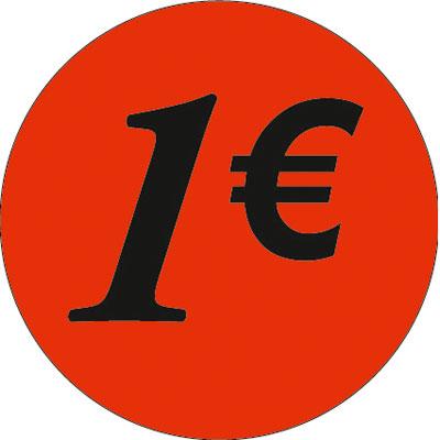 Gommettes adhésives 1€