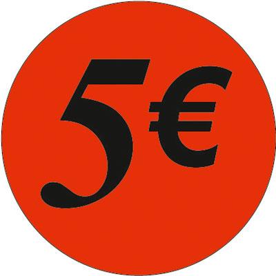 Gommettes adhésives 5€