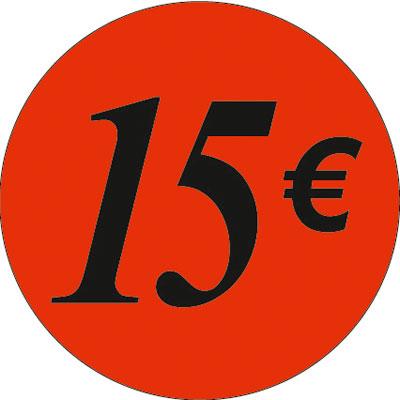 Gommettes adhésives 15€