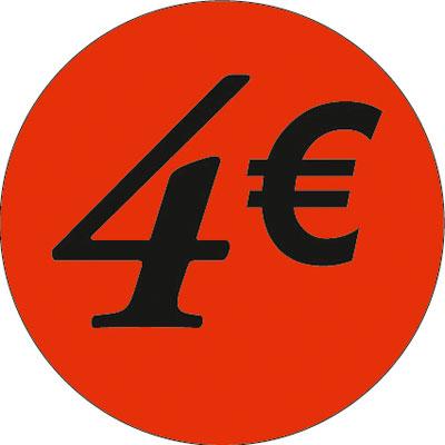 Gommettes adhésives 4€
