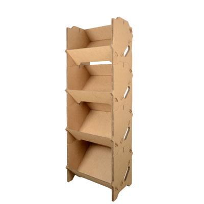 pr sentoir izzibox en carton. Black Bedroom Furniture Sets. Home Design Ideas