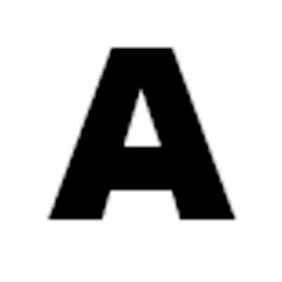 Lettre adhésive A