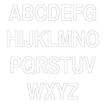 Lettres adhésifs