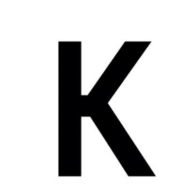 Lettre adhésive K
