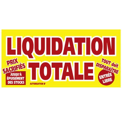 Affiche Liquidation Totale