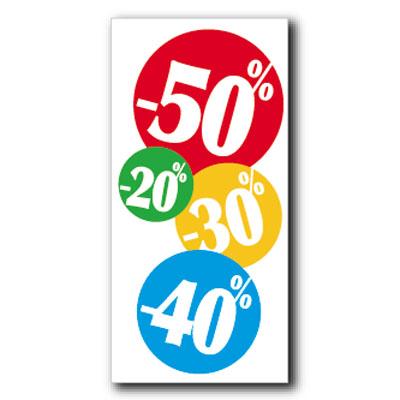 Affiche -20/-30/-40/-50 %