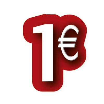 Carton découpé 1€