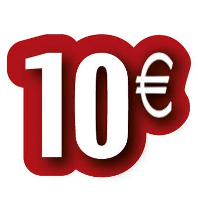 Carton découpé 10€
