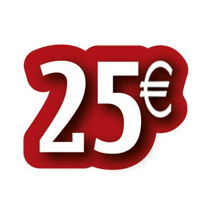 Carton découpé 25€