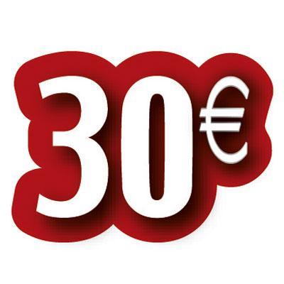 Carton découpé 30€