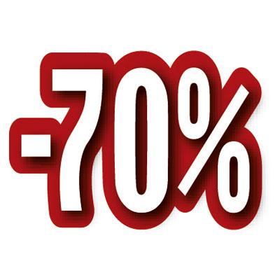 Carton découpé -70%