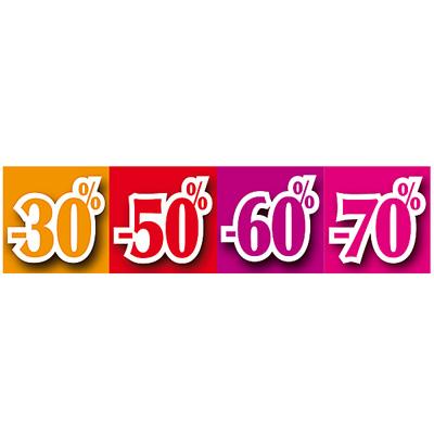 Bandeau -30/-50/-60/-70%