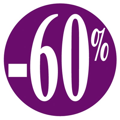 Gommettes adhésives -60%