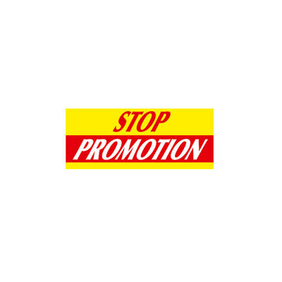 Affiche Stop promotion