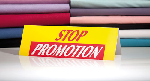 Chevalets Stop Promotion