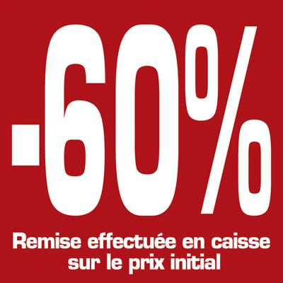 Affiche -60%